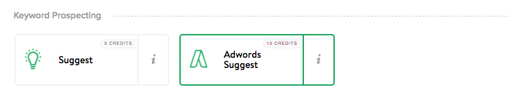 AdWords suggest miner