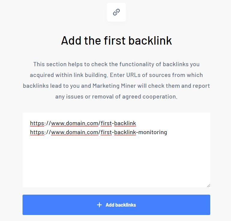 Add first backlink