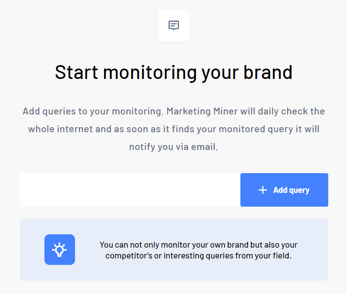 Add mention to monitor