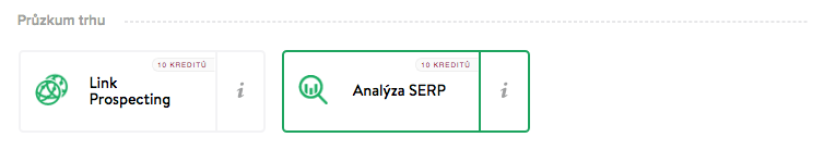 Analýza SERP - miner
