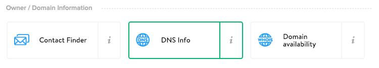 DNS info miner