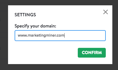 backlink checker domain specify