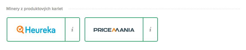 Hureka a Pricemania logo