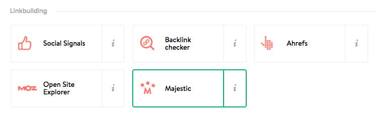 Majestic URL miner