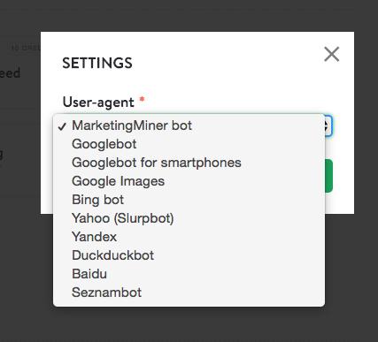 MarketingMiner bot status code checker