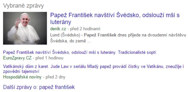 News serp feature