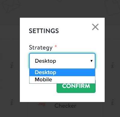 bulk page speed desktop checker