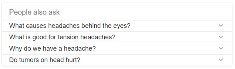 Related questions (people also ask) rozšírenie výsledkov vyhľadávania