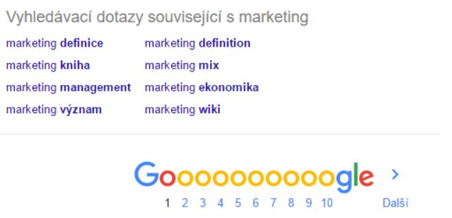 Related search - rozšíření