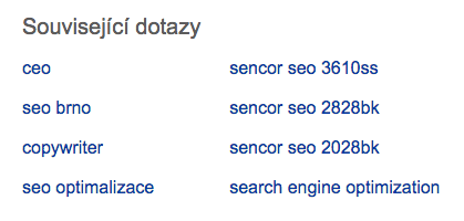 related search Seznam