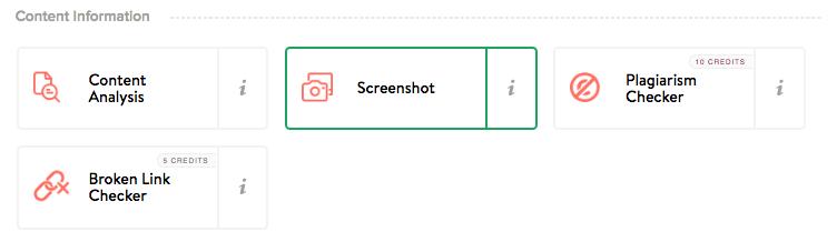 Screenshot URL miner - Marketing Miner