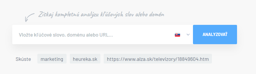 website profiler input